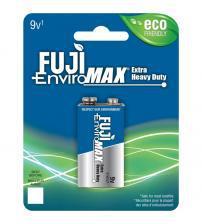 Fuji Z3-3600BP1 EnviroMax 9V Standard Zinc Batteries Carded 1