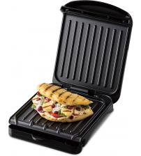 George Foreman 25800 Fit Grill Small Health Grill - Black