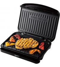 George Foreman 25810 Fit Grill Medium Health Grill - Black