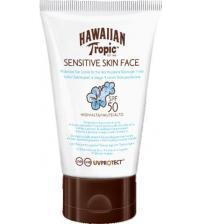 Hawaiian Tropic Y300838700 Sensitive Skin Face Lotion SPF 50 60ml
