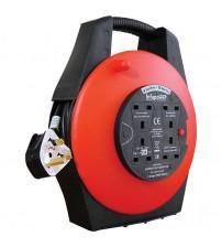 Infapower X813 4 Socket 13 Amp 15 Metre Enclosed Drum