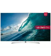 """LG OLED65B7V OLED HDR 4K 65"""" Ultra HD Smart TV with Freeview Play - Silver"""