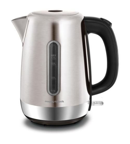 Morphy Richards 102786 3000W 1.7L Equip Jug Kettle - Stainless Steel