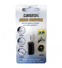 Omega 10711 3.5mm to 2.5mm Audio Adaptor