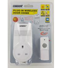 Omega 17627 Plug In Wireless Door Chime