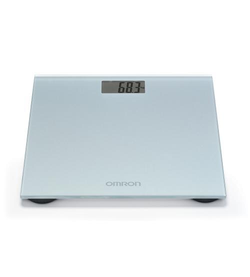 Omron HN289ESL Digital LCD Display Personal Scale Silky Grey