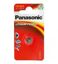 Panasonic CR1025-C1 3V Lithium Coin Cells Carded 1