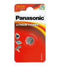 Panasonic CR1216-C1 3V Lithium Coin Cells Carded 1