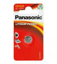 Panasonic CR1220-C1 3V Lithium Coin Cells Carded 1