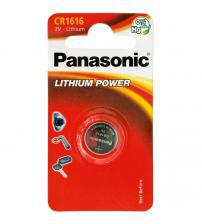 Panasonic CR1616-C1 3V Lithium Coin Cells Carded 1