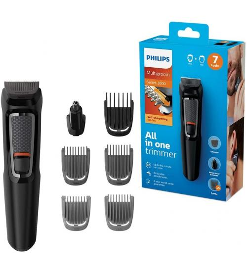 Philips MG3720-33 Series 3000 7 in 1 Multi Grooming Kit