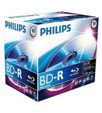 Philips PHIBD-R25GB10JC Blu-Ray Recordable 25GB 6x (Jewel Case Pack of 10)
