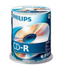 Philips PHICDR80100CB CD-R 80Min 700MB 52x (Spindel of 100)