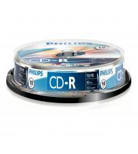Philips PHICDR8010CB CD-R 80Min 700MB 52x (Spindel of 10)