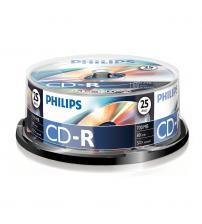 Philips PHICDR8025CB CD-R 80Min 700MB 52x (Spindel of 25)