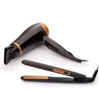 Remington D3012GP Hair Straightener & Hair Dryer Gift Set