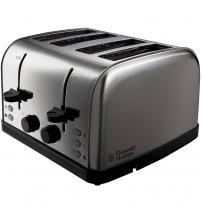 Russell Hobbs 18790 Futura 4-Slice Toaster - Silver