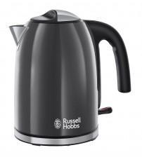 Russell Hobbs 20414 3000W 1.7 Litre Stainless Steel Colours Plus Kettle - Grey