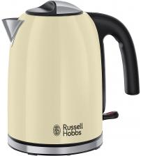 Russell Hobbs 20415 1.7 Litre Stainless Steel Colours Plus Kettle - Cream