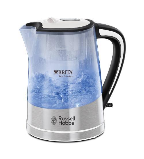 Russell Hobbs 22851 1L 2200W Purity Plastic Kettle - White