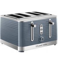 Russell Hobbs 24383 Inspire High Gloss 4 Slice Toaster - Grey