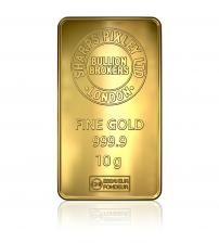 Sharps Pixley Gold Bullion Bar 10g 999.9 Pure