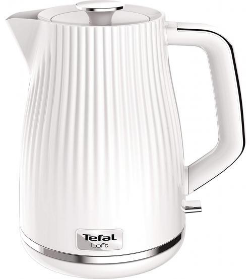 Tefal KO250140 1.7L 3000W Loft Kettle - Pure White
