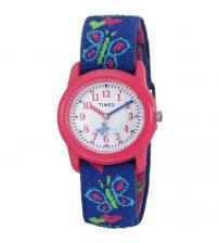 Timex T89001 Kids Butterflies & Hearts Watch