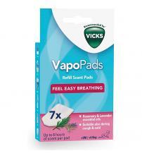 Vicks VBR7EV1 Refill Vapopads - Rosemary & Lavender