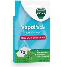 Vicks VH7V1 VapoPads Menthol 7 Scented Pads with Essential Oils