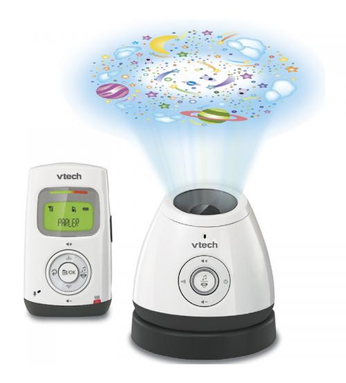 Vtech BM2200 Audio Baby Monitor with Room Temp Ceiling Projection & Nightlight