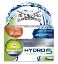 Wilkinson Sword 70000250 Mens Hydro 5 Sensitive 4 Blades