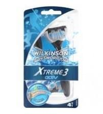 Wilkinson Sword 70007220 Mens Xtreme 3 Activ Disposable Razor 4S