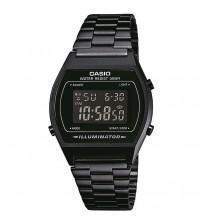 Casio B640WB-1BEF Classic Digital Watch with Stainless Steel Band - Black