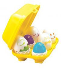 Tomy 1581 - Play to Learn Hide N Squeak Eggs From Birth
